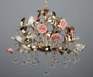 подвесной светильник флористика