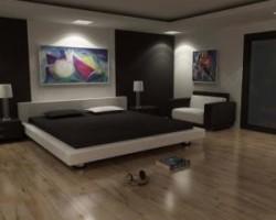 освещение спальни дизайн