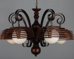 деревянные светильники под старину
