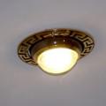 Точечный светильник в подвесном потолке
