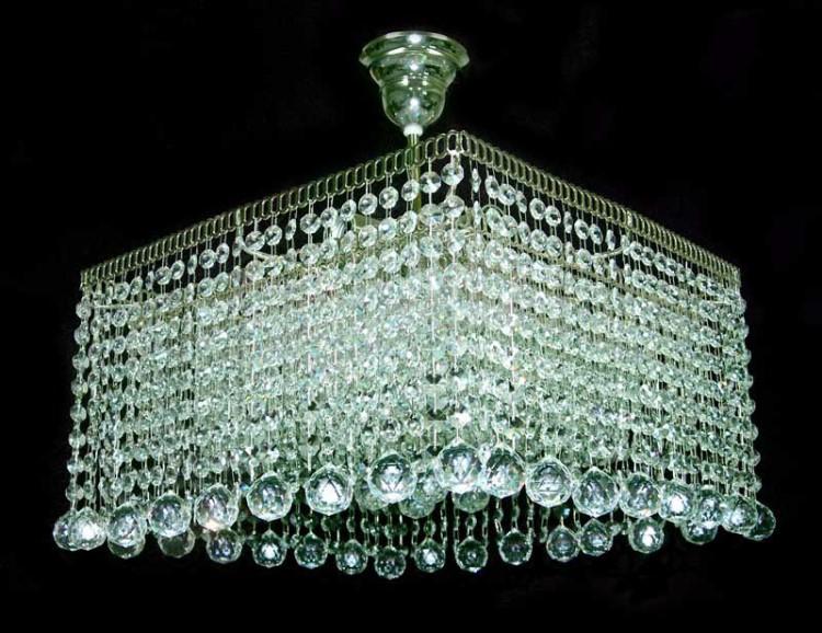 светильник квадратный потолочный