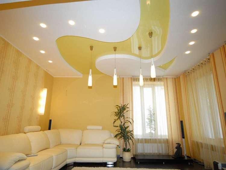 светильники под натяжные потолки