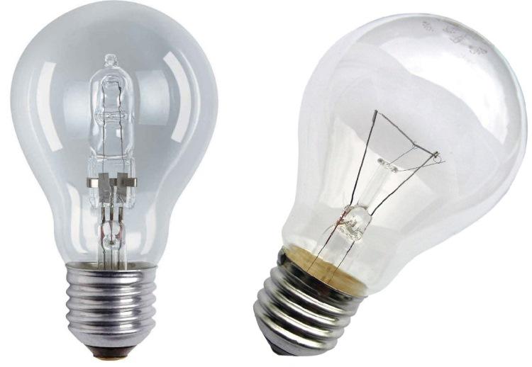 светильники с галогенными лампами