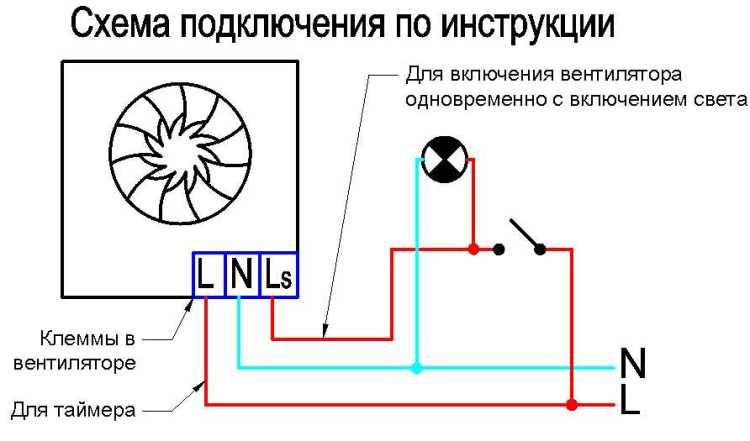 схема подключения люстры с