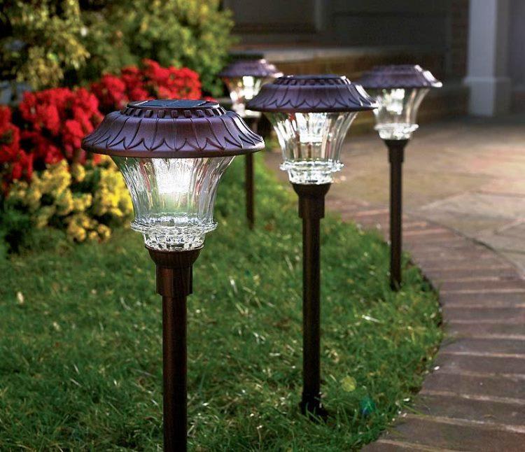 светильники для ландшафтного освещения