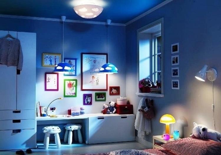 детский светильник настенный