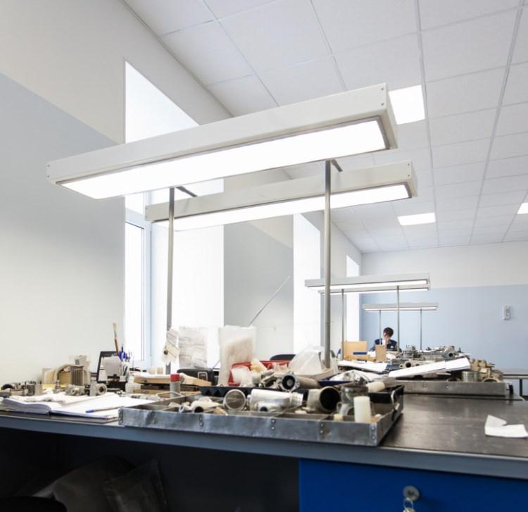 расчет освещения производственного помещения пример