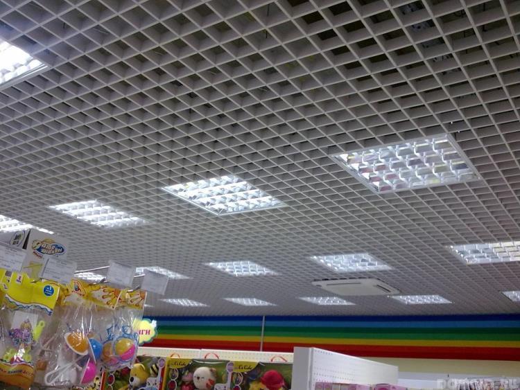 светильник потолочный растровый