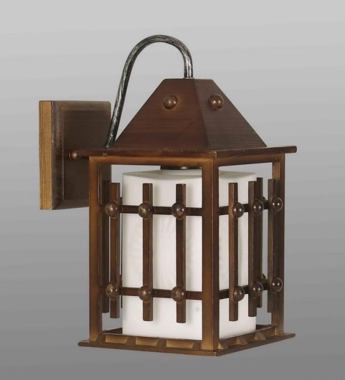 светильники встроенные деревянные