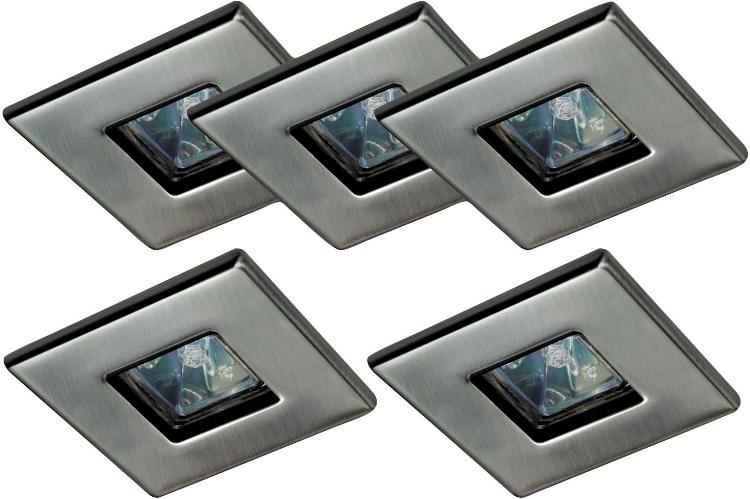 квадратные светильники на потолок
