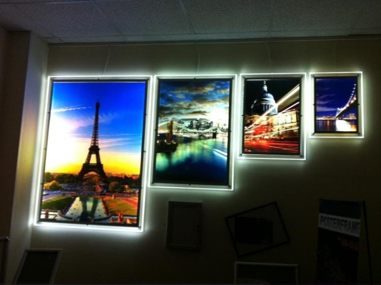 световые панели для стен