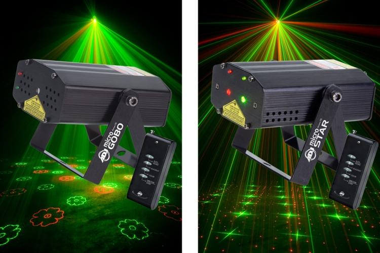 лазерное освещение для дискотек